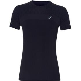asics Seamless SS Texture - Camiseta Running Hombre - negro